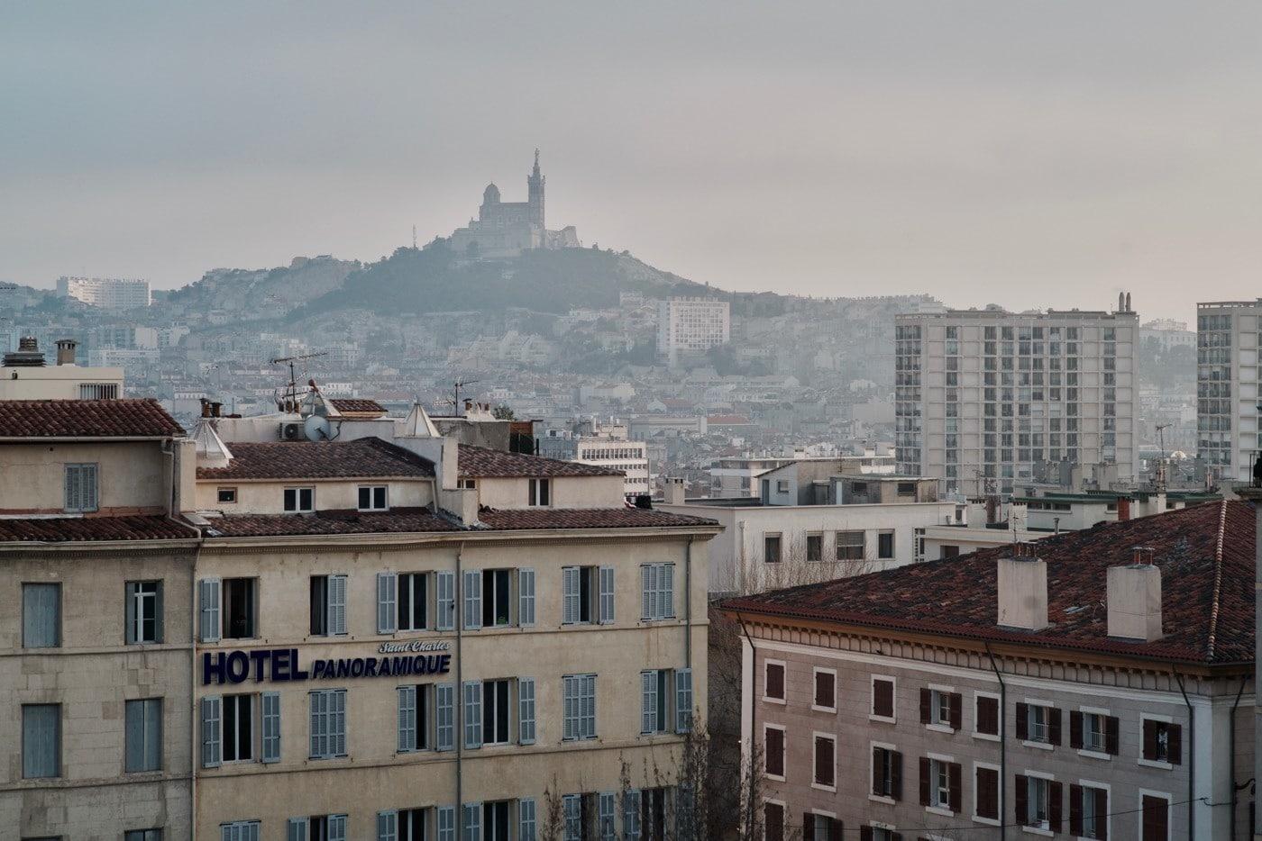 Vue de la gare de Marseille