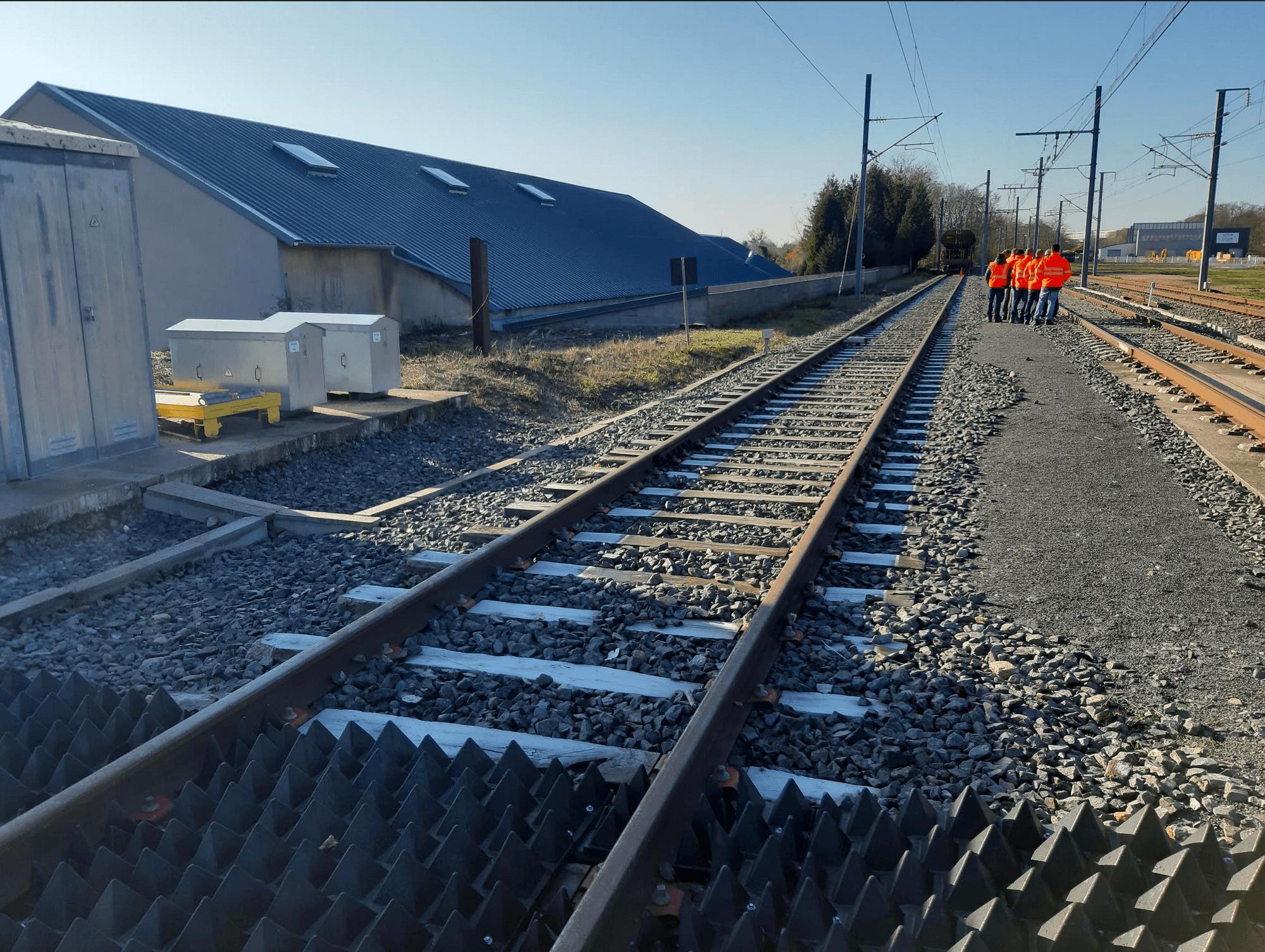 """plateforme voie-école """"Mecateam"""" à Montceau les Mines"""